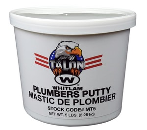 J.C. Whitlam Make-Tyte 5 lb. Stainless Steel Putty WMT5