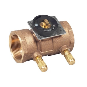 Watts FTP Flow Measurement Valve Bronze WCSM61