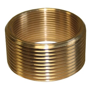 Jones Stephens 1-1/2 x 1-1/4 in. Polished Brass Bath Drain Adapter JT05024