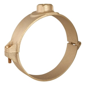 Ford Meter Box 1 in. PVC IPS Brass Double Strap Saddle FS71404