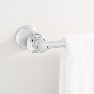 Mirabelle® Cordoba® 24 in. Die Cast Zinc Alloy Towel Bar MIRPT24TB