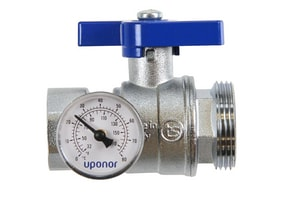 Uponor North America NPT Stainless Steel Full Port Ball Valve UA277125