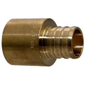 Tribal Manufacturing Brass PEX x MNPT Adapter TPEXLFMA