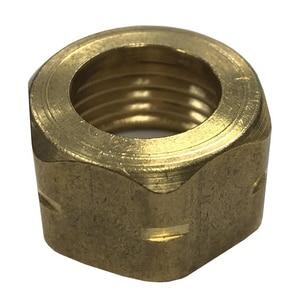 Jones Stephens 1/2 x 14 x 9/16 in. Brass Basin Nut JB10104