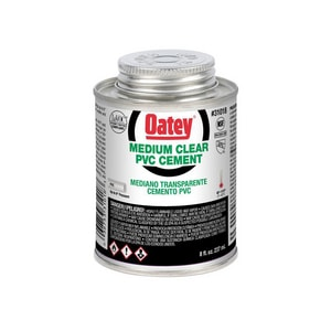 Oatey PVC Medium Clear Cement O31018