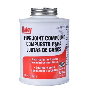 Oatey Pipe Joint Compound Dope with Brush O31235
