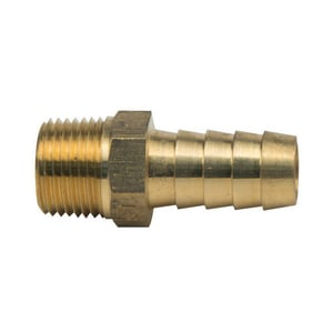 PROFLO® Global Hose Barb x MIP Brass Adapter PFXMHBDN