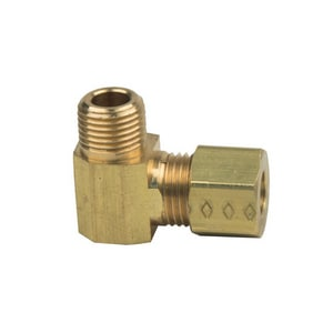 PROFLO OD Tube x MIP Brass Compression Elbow PFXMCEBN