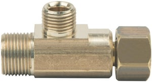 PROFLO® 3/8 x 3/8 x 1/4 in. Compression x FIP Brass Reducing Tee PFXCTFCCBN