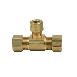 PROFLO® Domestic Brass Compression Tee PFXCTCCN