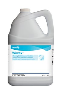 Diversey Wiwax 1 gal Cleaning and Maintenance Emulsion D94512767
