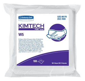 Kimberly Clark Pure® Task Wipes in White 100-Count K06179