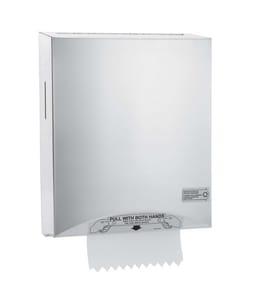 Kimberly Clark Hard Roll Towel Dispenser in Stainless Steel K09994