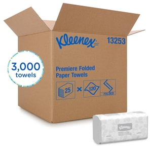 Kimberly Clark Kleenex® 12-2/5 x 7-4/5 in. Towel (Case of 25) K13253