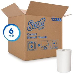 Kimberly Clark Scott® 580 ft. Hard Roll Towel in White (Case of 6) K12388