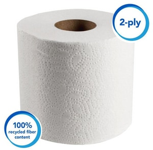 Kimberly Clark Scott® 4-1/10 in. Standard Bathroom Tissue Roll in White (Case of 80) K13217