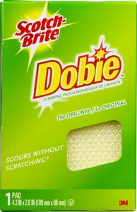 3M Scotch-Brite® Dobie® 4-3/10 in. All Purpose Pad in Purple 3M02120056855