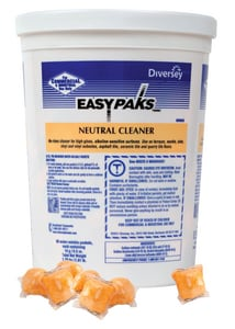 Diversey Easy Packs® 0.5 oz. Neutral Floor Cleaner D990653