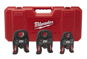 Milwaukee M18™ 1/2 - 1 in. Iron Press Jaw Kit in Black and Red M49162696