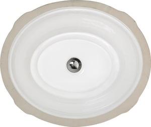 American Standard Estate® 1-Bowl Oval Undermount Lavatory ...