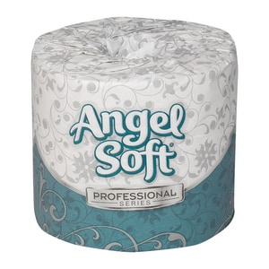 Georgia-Pacific Angel Soft® 4 in. 2-Ply Bathroom Tissue in White (Case of 40) G16840