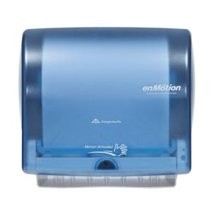 Georgia-Pacific enMotion® Wall Mount Automated Towel Dispenser in Splash Blue G59487