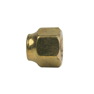 PROFLO® 1/4 in. OD Flare Short Forged Refrigeration Nut PFFSRFNB