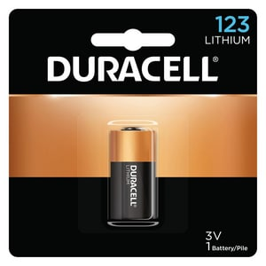 Duracell CR123 3V Lithium Battery 1-Pack DDL123ABPK at Pollardwater