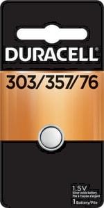 Duracell 1.5V Silver Oxide Battery DD303357BPK