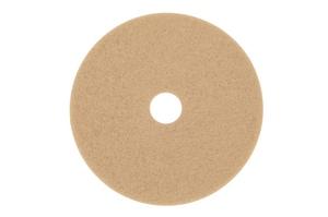 3400 Series 20 in. Burnish Floor Pad in Tan (Case of 5) 3M04801105606
