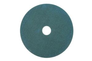 3100 Series 1 in. Burnish Pad in Aqua (Case of 5) 3M0480110875