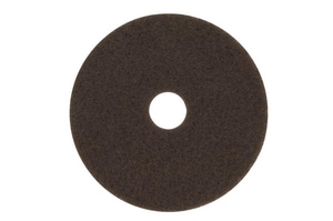 7100 Series Stripper Floor Pad in Brown (Case of 5) 3M0480110844