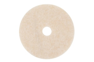 3200 Series Speed Burnish Pad in White (Case of 5) 3M04801118066