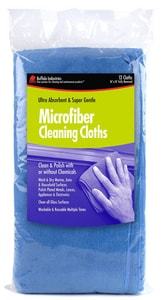 Buffalo Industries 16 x 16 in. 18 lbs. Microfiber Cleaning Cloth BUF64003
