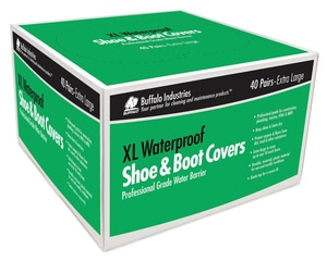 Buffalo Industries Whirlpool Shoe Cover Booties in Green BUF68404