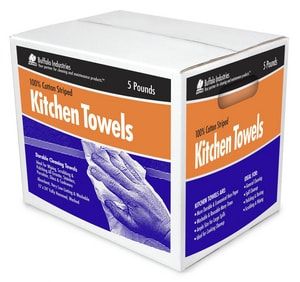 Buffalo Industries Kitchen Towel Box in White BUF10249F