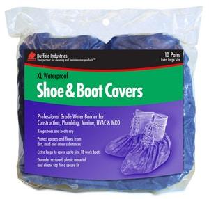 Buffalo Industries Whirlpool Shoe Cover Booties in Green BUF68403