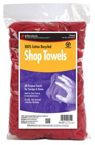 Buffalo Industries Multi-Color Recycled Shop Towel Bag BUF62011
