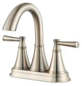 Pfister Cantara™ 3-Hole Centerset Lavatory Faucet with Double Lever Handle PF048CR