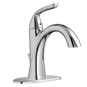American Standard Fluent™ 1.5 gpm 1-Hole Single Control Bathroom Faucet with Single Lever Handle A7186101