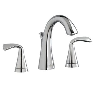 American Standard Fluent™ Widespread Lavatory Faucet with Double Lever Handle A7186801