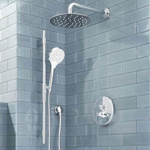 Mirabelle® 12 in. Shower Arm for Rainshower with Escutcheon MIRRSA120