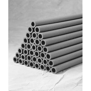 Nomaco Insulation Nomalock® 3/8 x 1/2 in. 69-Pack Wall Pipe Insulation Split N6L048038