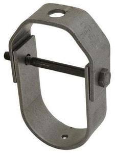 FNW Adjustable Long Drop Clevis Hanger in Black FNW7006P