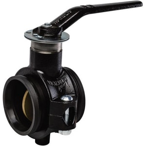 Victaulic 700 Series Carbon Steel Nitrile Lever Handle Butterfly Valve VV700XTJ-NR