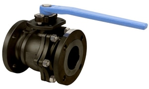FNW 150# 2-Piece Carbon Steel Flanged Full Port Ball Valve FNW601