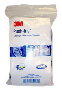 3M E-A-R™ Push-Ins™ Corded Foam Earplug with 28dB Noise Reduction Rating 3M08052919092