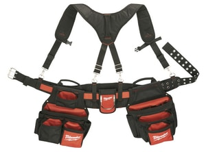 Milwaukee Contractor Work Belt with Suspension Rig M48228120