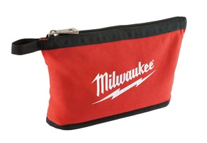 Milwaukee 12-1/2 in. Zipper Pouch in Red M48228180