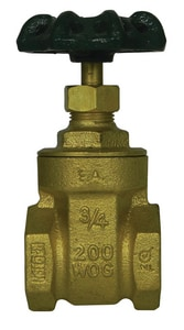 A.Y. McDonald FNPT Brass Full Port Gate Valve M72035T